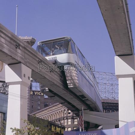 the alweg monorail built for the