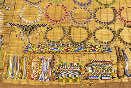 curios and zulu bead necklaces south