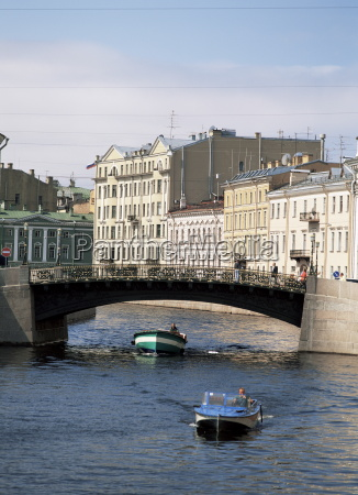 the moika river st petersburg russia