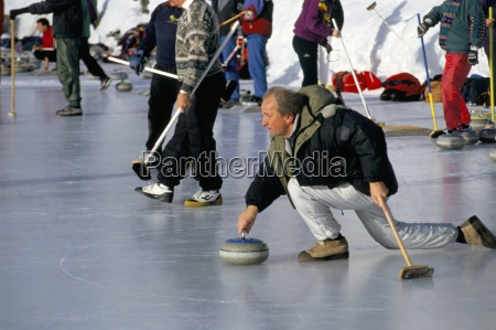 curlers on the ice st moritz