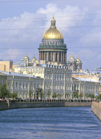 st isaacs cathedral and the moika