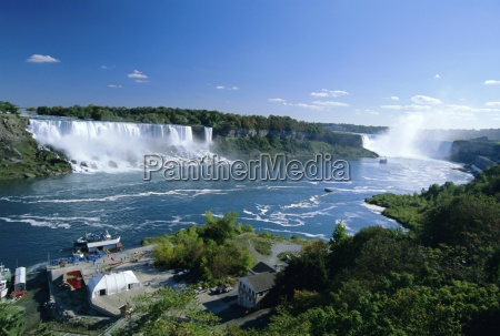 niagara falls on the niagara river