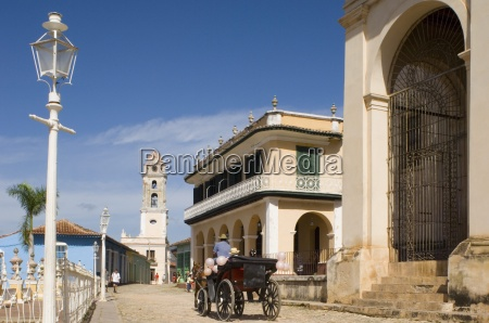 a horse and carriage on the