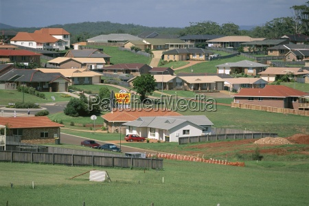 new housing development on the outskirts