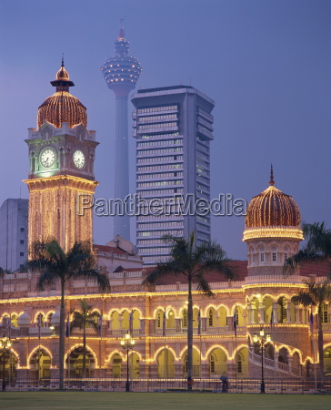the sultan abdul samad building formerly