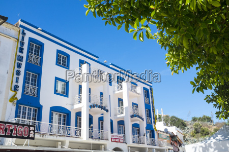 art deco inspired building in the