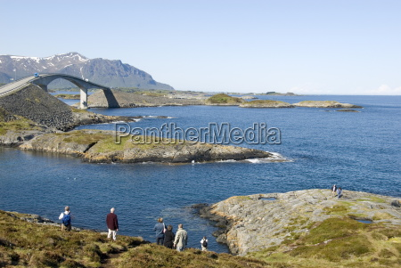 the new atlantic road connecting islands
