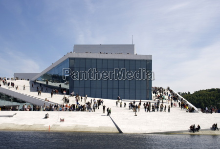 national opera house oslo norway scandinavia