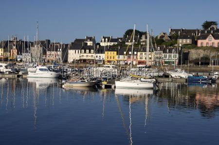 camaret harbour brittany france europe