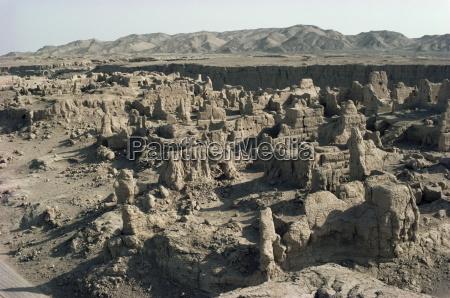ruins of jiaone jiaohe old capital