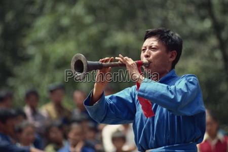 yi trumpeter west guizhou guizhou china