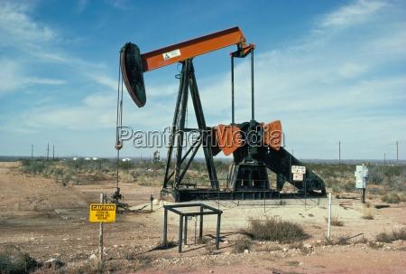 oil well pump near odessa texas
