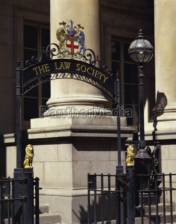 the law society entrance london england