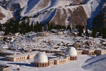astronomical station almaty kazakhstan central asia