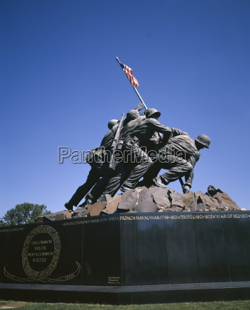 iwo jima war memorial to the