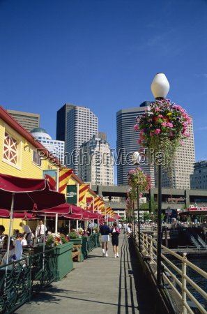 cafes on pier 56 on the