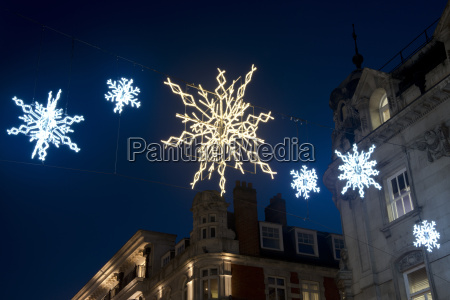 christmas lights on bond street london