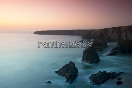 a view of the bedruthan steps