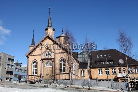 church in the harbour square tromso