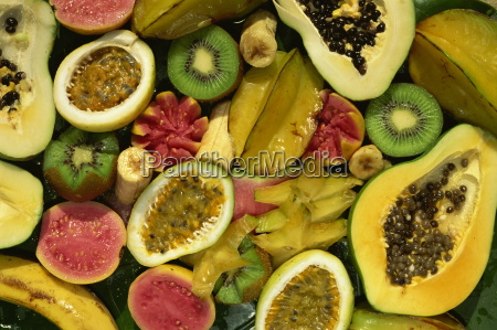 close up of tropical fruit nadi