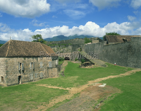 fort st charles basse terre guadeloupe
