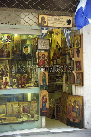 icons paintings and religious artefacts for