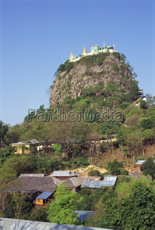 the temple of mount popa the