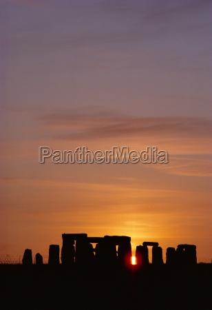 stonehenge salisbury plain england uk