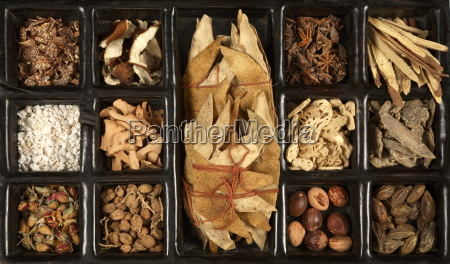 various chinese herbs for traditional chinese
