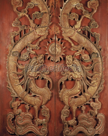 chinese style door found in a