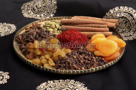 ingredients for saffron rice in india