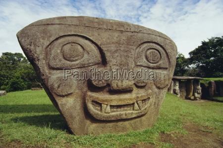 san agustine archaeological park colombia south