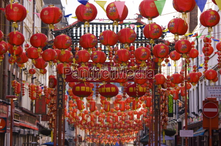 gerrard street chinatown during the chinese