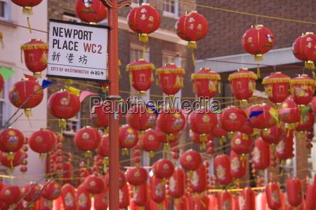 chinatown during chinese new year celebrations