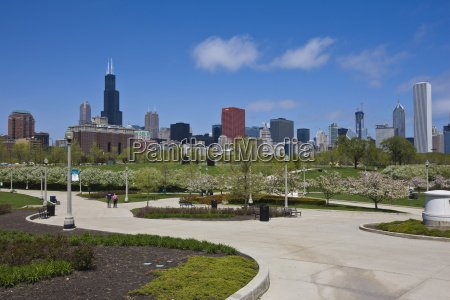 museum campus grant park and the