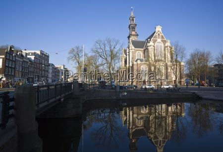 westerkerk church built in 1631 amsterdam