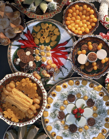 sweets thai food in thailand southeast