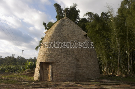 traditional beehive house of the dorze
