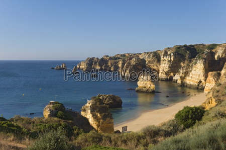 praia dona ana algarve portugal europe