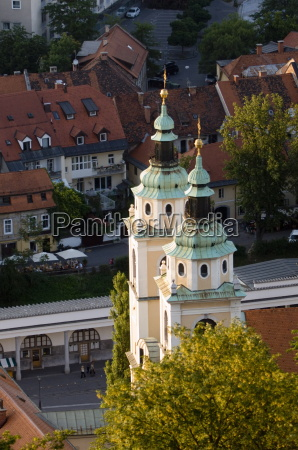 cathedral of st nicholas ljubljana slovenia