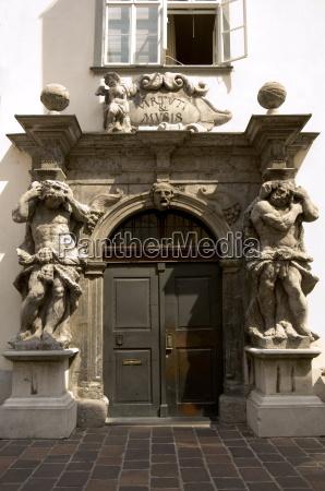 bronze door of the cathedral of