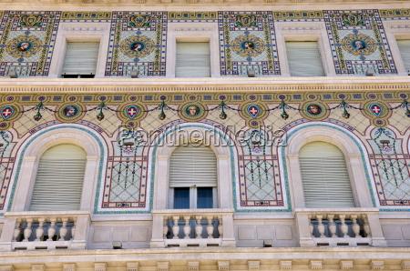 mosaic piazza dell unita ditalia trieste