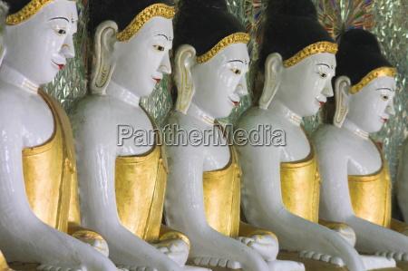 buddha images umin thounzeh 30 caves