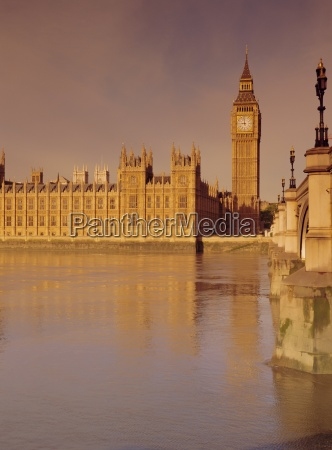 the palace of westminster and big