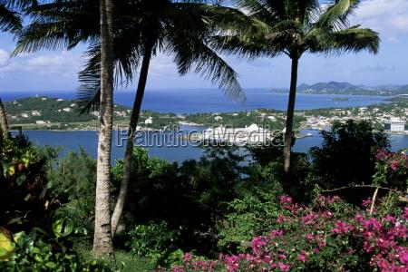 castries st lucia windward islands west