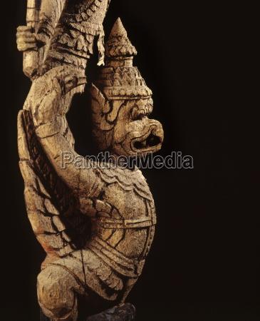 a garuda symbol of royal power