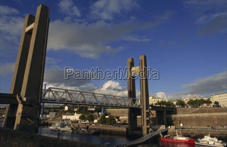 the biggest drawbridge in europe recouvrance