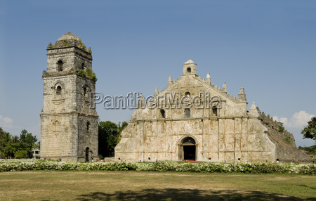 paoay church dating from 1710 classic