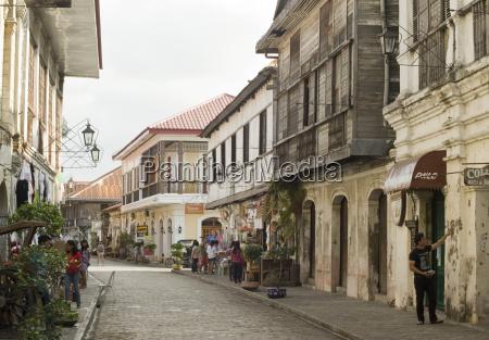 crisologo street vigan unesco world heritage