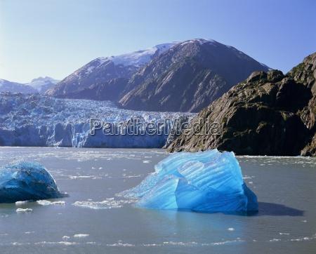 tracy arm glacier alaska usa north